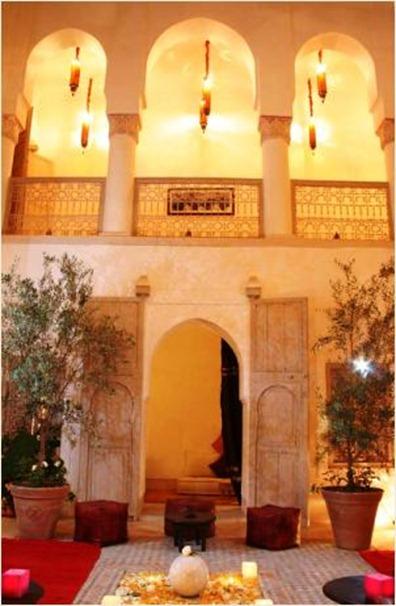 Riads y hostels