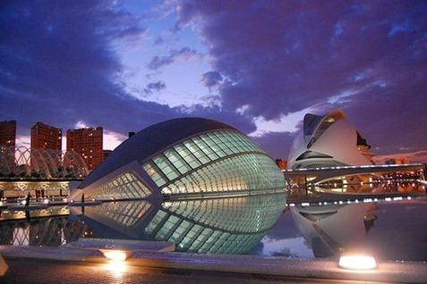 Ciudad artes y las ciencias