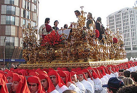 procesiones de semana santa malaga. La Semana Santa se vive con
