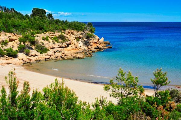 Costa dorada ametlla del mar_