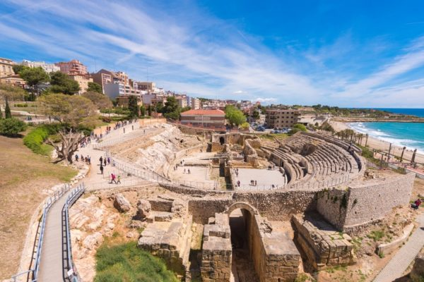 Costa dorada que ver anfiteatro romano
