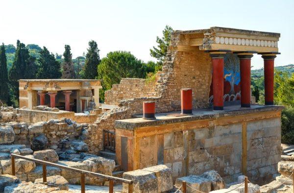 Creta que ver Palacio de knossos