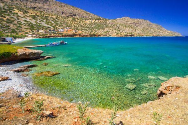 Creta que ver bahia elounda