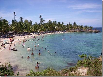 Playas de Cebu en Filipinas