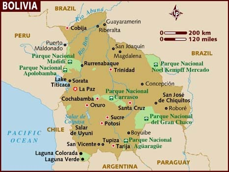 map_of_bolivia