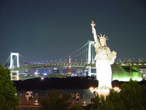 New-York-City-Statue-Of-Liberty-Night-Wallpaper