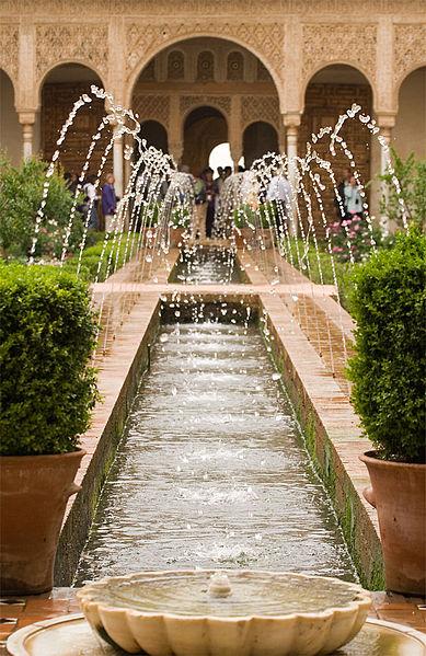 fuentes generalife alhambra