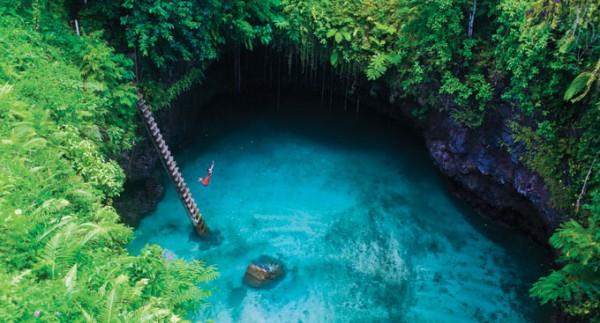 27-lugares-que-habria-que-visitar-antes-de-morir-To Sua-Lotofaga-Upolu-Samoa