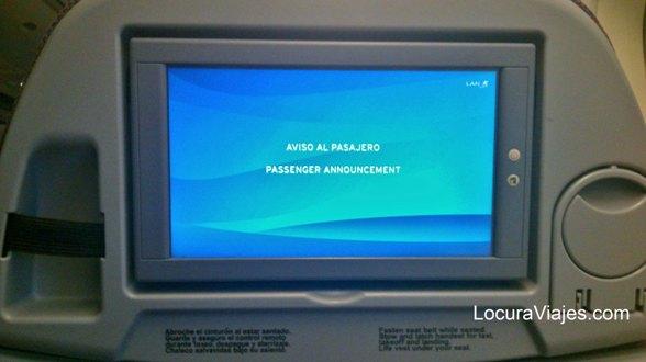 LAN pantalla individual