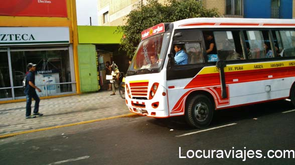 autobus lima