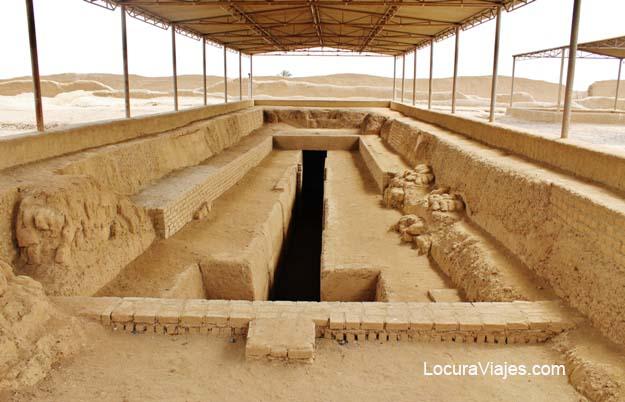plataforma funeraria