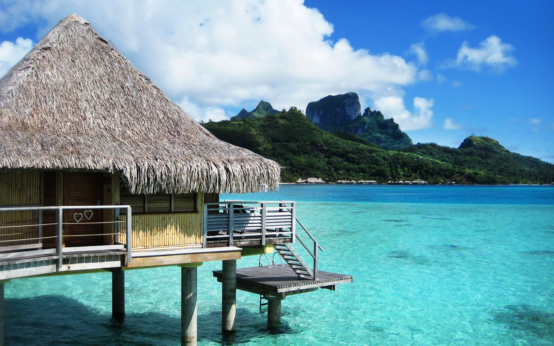 Bora Bora Bungalows 4k Hd Desktop Wallpaper For Wide: Bora Bora, Un Paraíso En La Polinesia Francesa