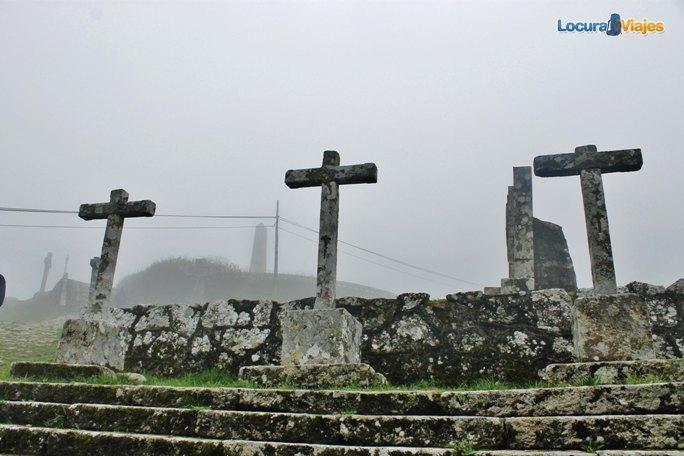 cruces monte santa tecla