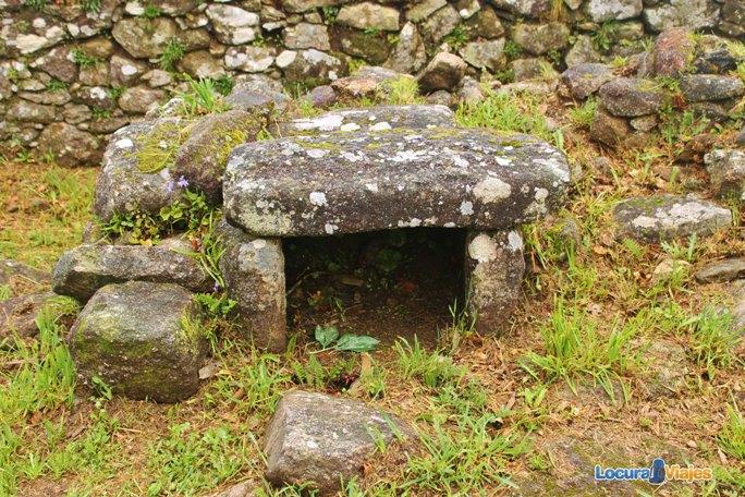 horno de piedra castro santa tecla