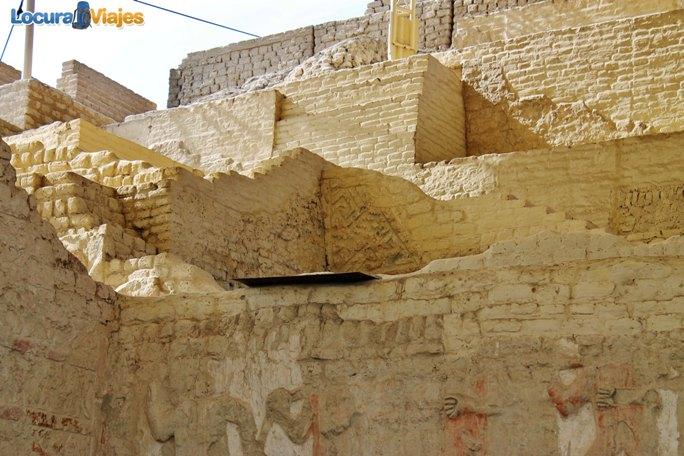 huaca de cao viejo piramide