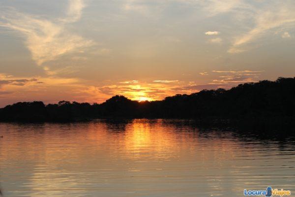 puesta de sol amazonas