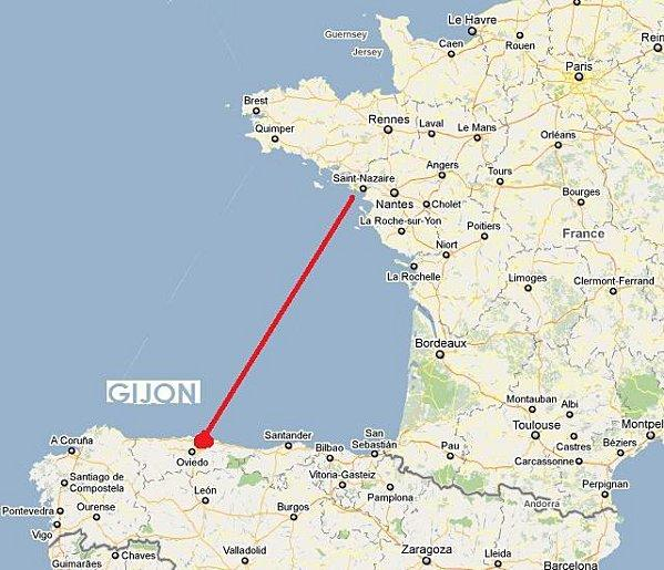 Nantes-Gijon