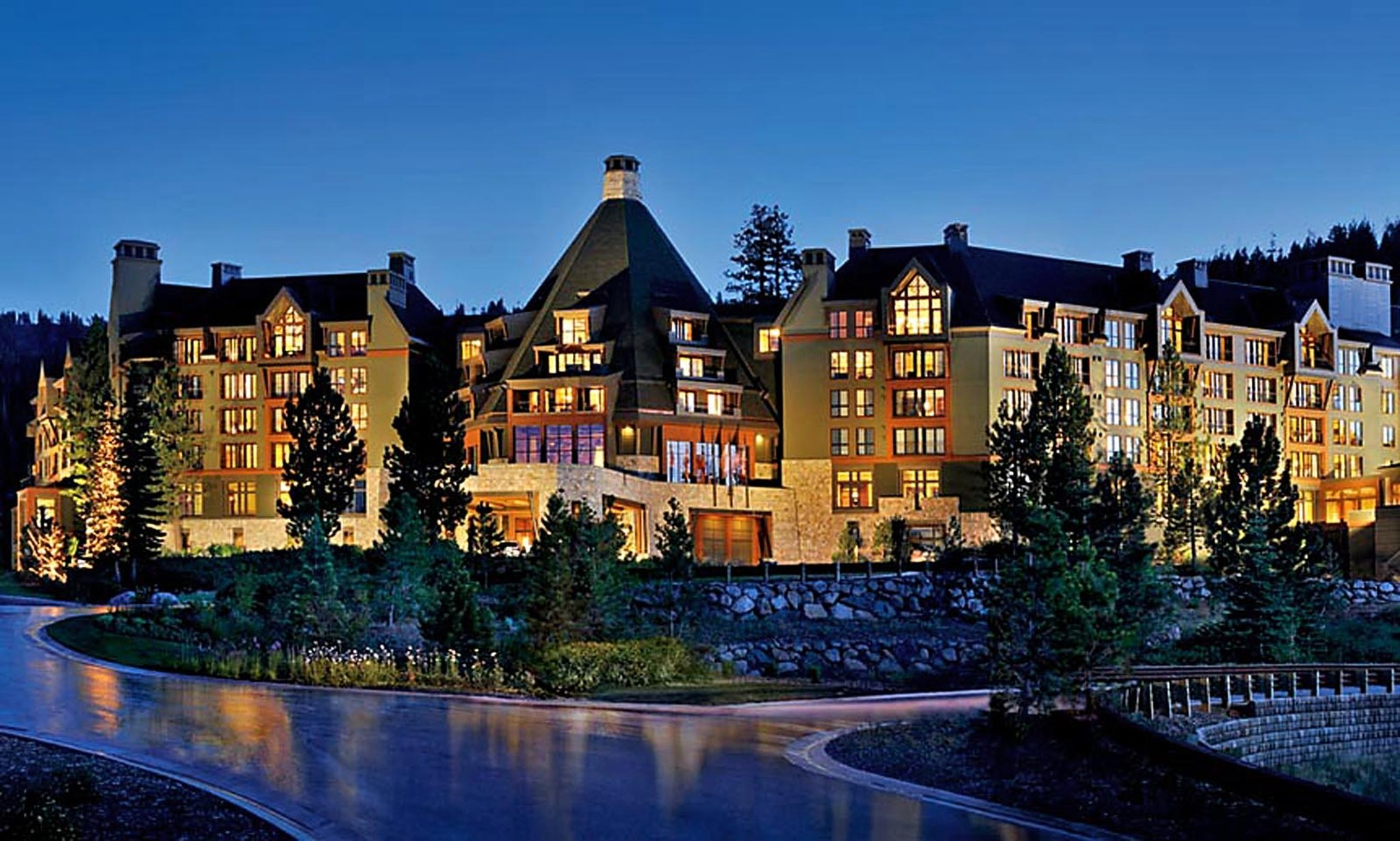 RITZ-CARLTON, LAKE TAHOE, CA: This Ritz sits mid-mountain at the newly