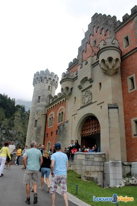 castillo neuschwanstein_entrada