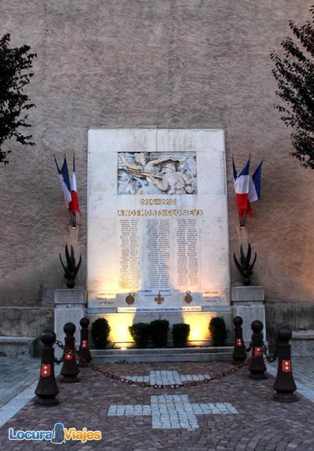 Saint Étienne de Tinée monumento