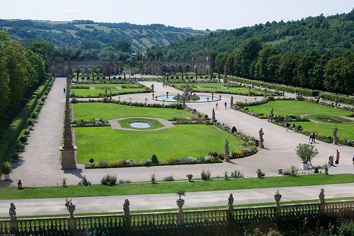 Weikersheim Castle garden