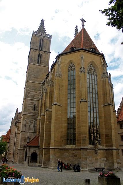 Rothenburg-ob-der-Tauber-Iglesia-santiago