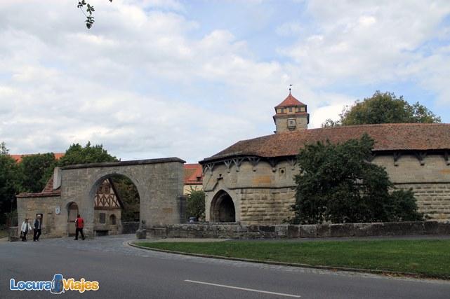 Rothenburg ob der tauber una ciudad medieval en alemania - Rothenburg ob der tauber alemania ...