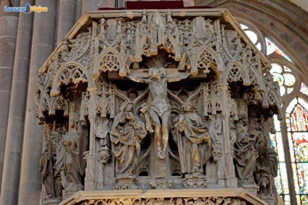 estrasburgo_Catedral_pulpito