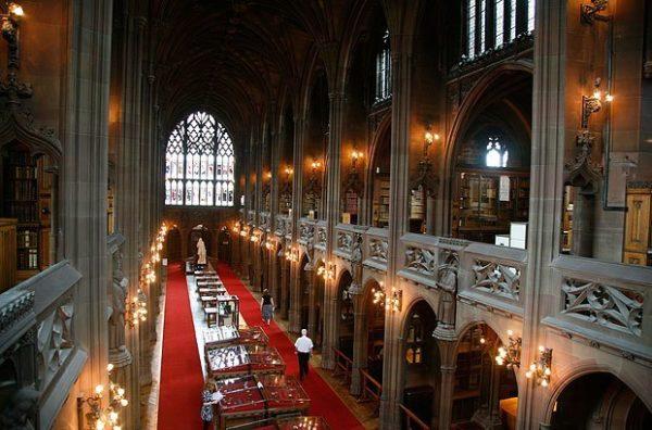 Biblioteca-John-Rylands-Manchester