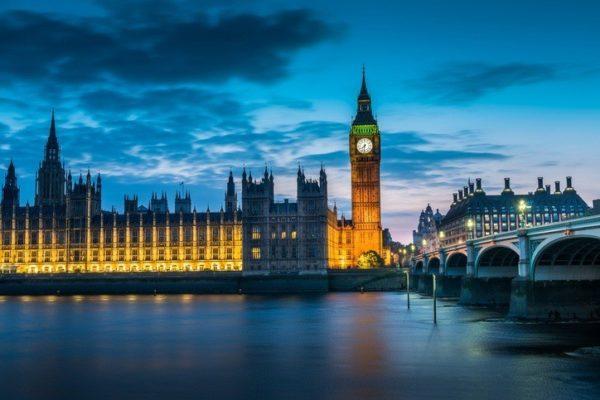 Lugares populares reino unido parlamento