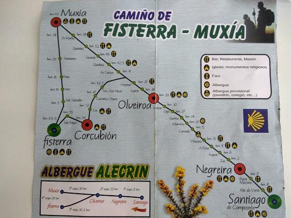 camino-santiago-fisterra-muxia-mapa