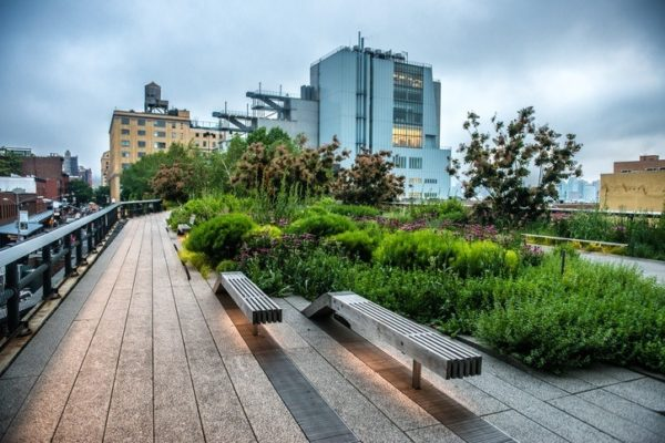 Visitas alternativas nueva york high line park