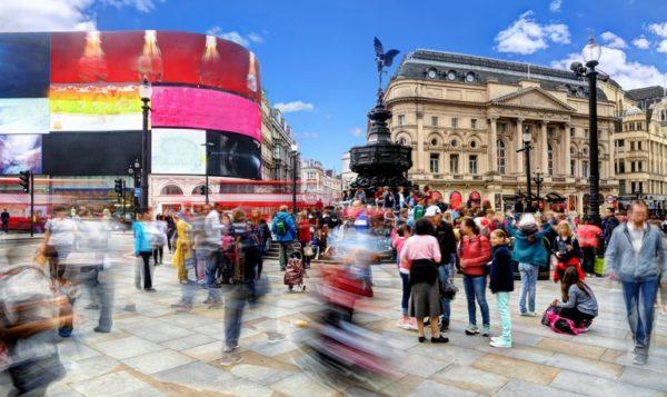 Lugares mas populares del reino unido picadilly circus