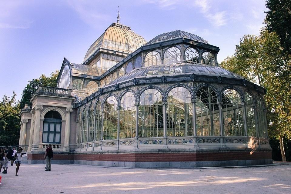 Palacio de cristal de madrid d nde est historia y - Fabricas de cristal en espana ...