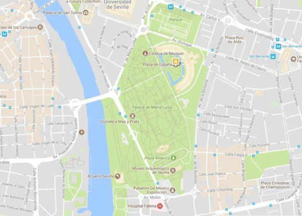 Plaza De Espana De Sevilla Historia Y Como Visitarla Locuraviajes Com