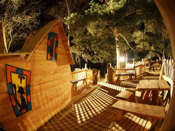Las 10 Mejores Cabanas En Arboles De Espana Y Del Mundo - Cabaas-de-madera-en-arboles