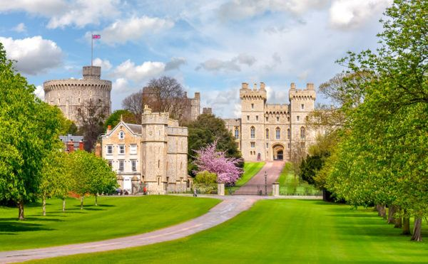 Lugares populares reino unido castillo windsor