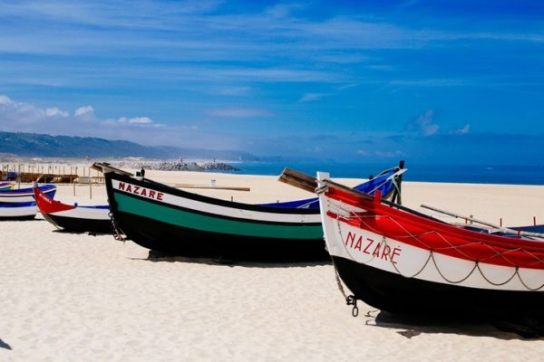 Playas mas bonitas de portugal nazare