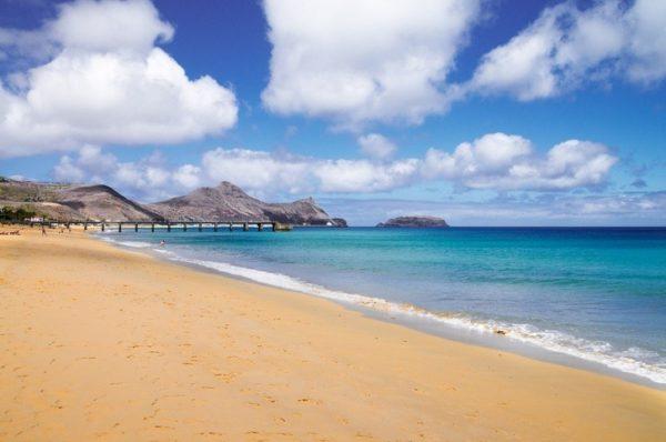 Playas mas bonitas de portugal porto santo playa dorada