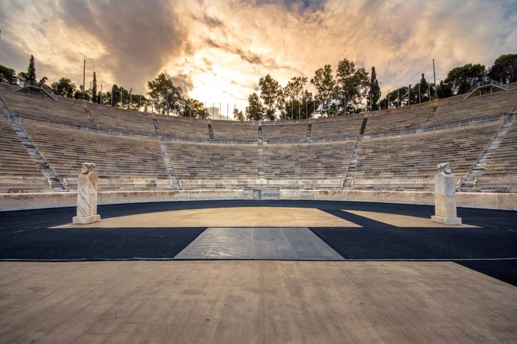 Estadio panathinaiko frontal