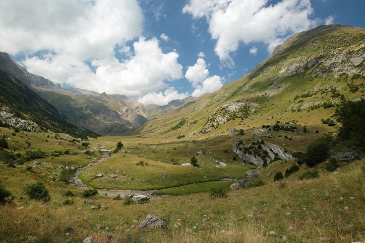 Monte perdido pirineos