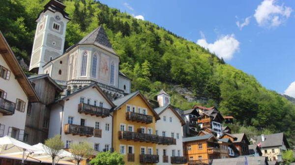 Los patrimonios europeos de unesco Área de Salzkammergut