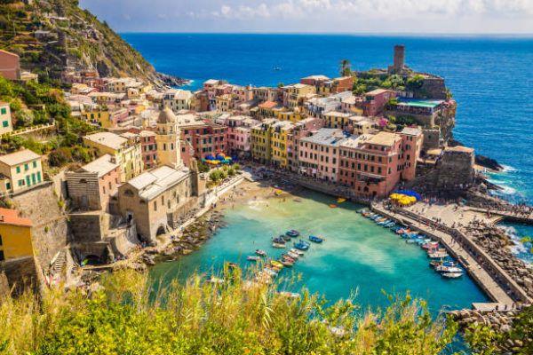 Los patrimonios europeos de unesco Cinque Terre