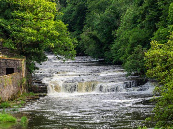 Los patrimonios europeos de unesco New Lanark